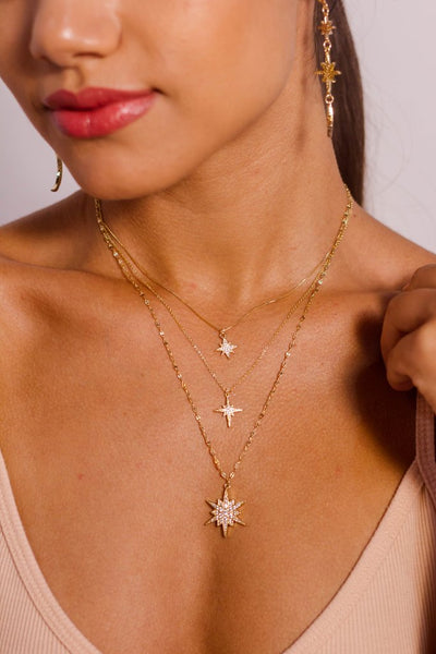 MC Gold: North Star Necklace