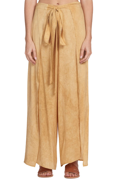 Elan Blue Washed Wrap Pant