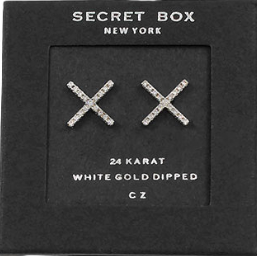 Secret Box CZ X Studs