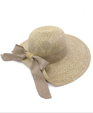 Stella Bow Band Summer Hat