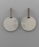 Stella Bar & Disc Earrings