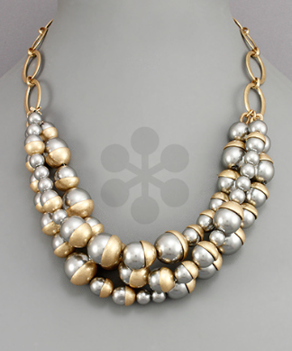 Golden Stella Statement Necklace