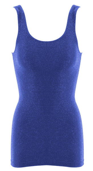 SugarLips - Sparkly Lurex Seamless Tank (One Size Fits All)