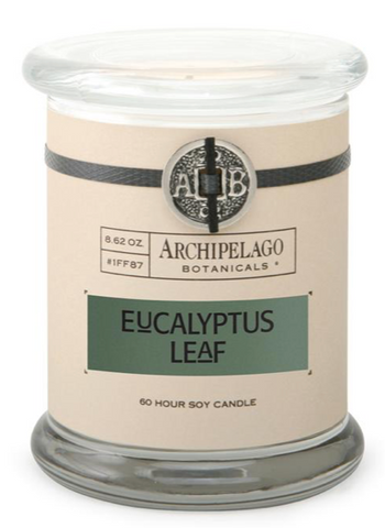 Archipelago - Eucalyptus Leaf Glass Jar Candle