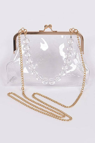 Apparel Candy - Clear Handbag