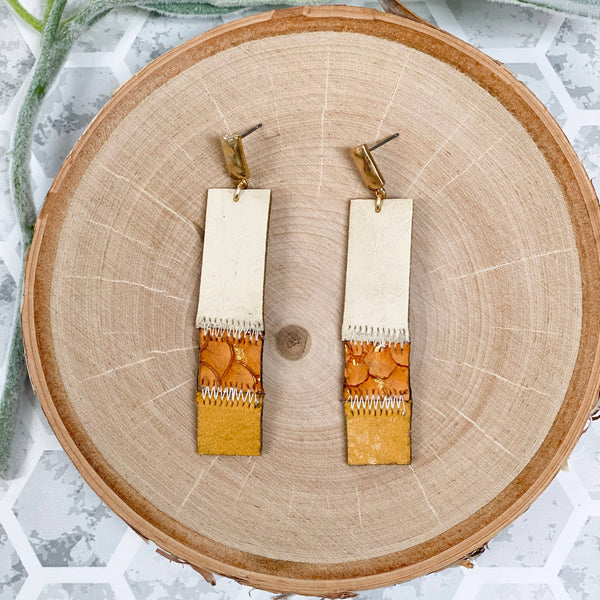 Mix Mercantile Designs - Lilly Earrings - Mustard