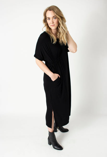 BYTAVI - Black Tee Dress