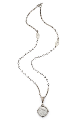 French Kande Swarovski  Cable Chain