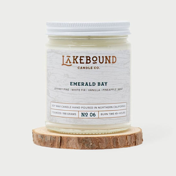 Lakebound Candle Co. - Emerald Bay Candle