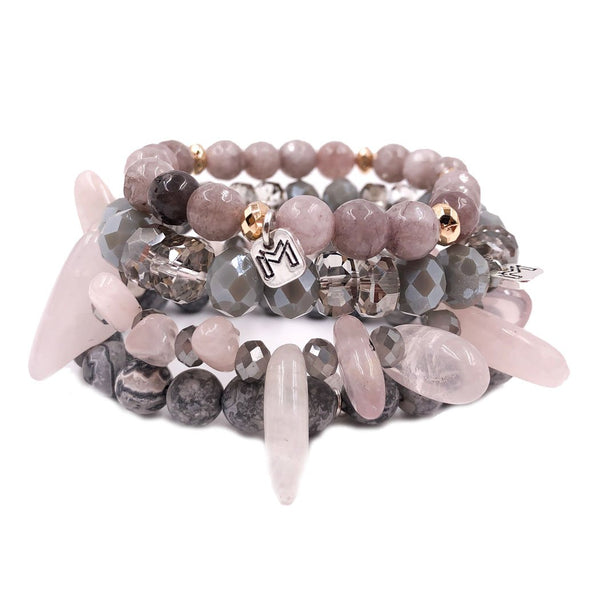 Mix Mercantile Dahlia Bracelet Set
