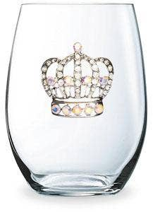 Cork Pops Inc - Large Crown Stemless Cup
