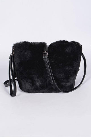 Apparel Candy - Faux Fur Clutch