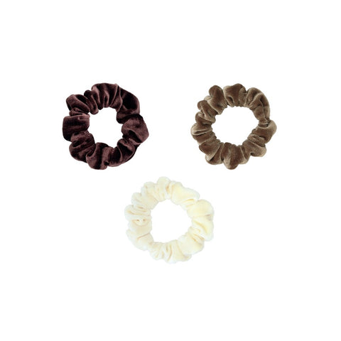 Emi Jay- 3 Piece Velvet Scrunchie Pack