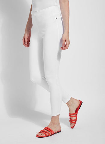Lysse Toothpick Denim - White