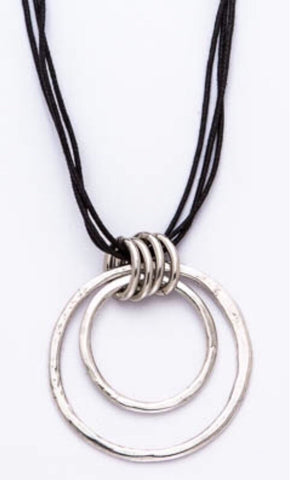 Trades by Haim Shahar - Handmade Necklace with sterling silver