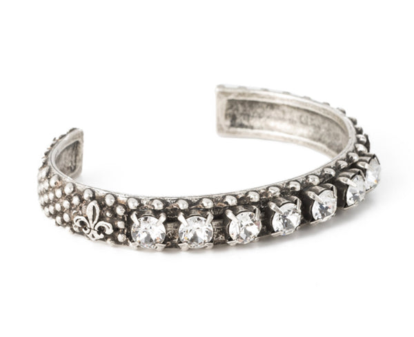 French Kande SWAROVSKI BANGLE