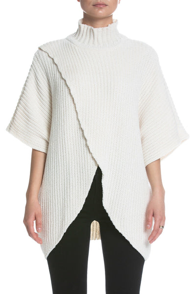 Elan Wrap Front Sweater