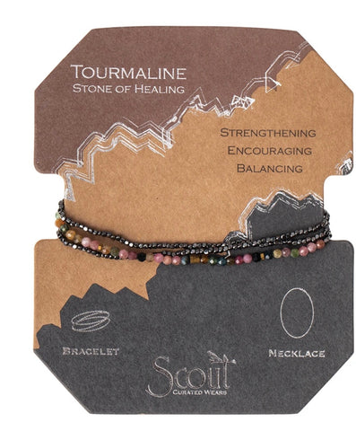 "Scout Curated Wears- Delicate Stone Bracelet ""Stone of Healing"""