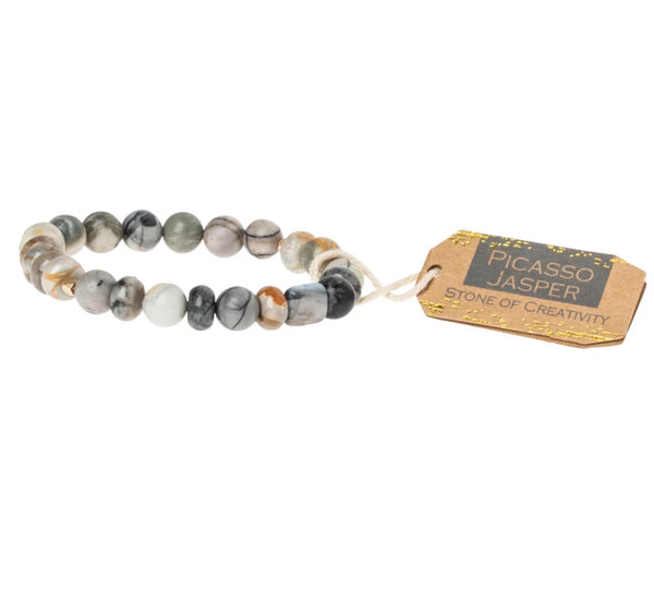 "Scout Curated Wears-Stone Stacking Bracelet ""Stone Of Creativity"""