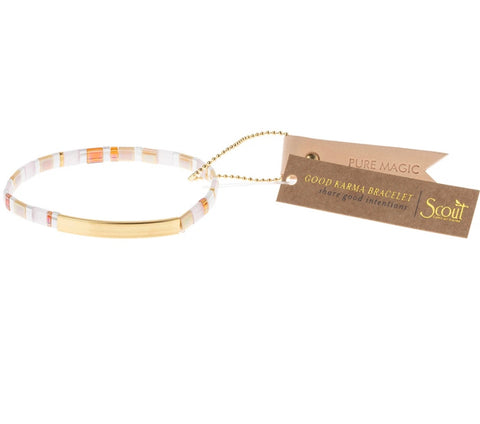 "Scout Curated Wears-Good Karma Bracelet ""Pure Magic"""