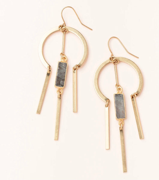 Scout Curated Wears-Dream Catcher Stone Earring