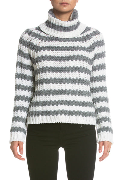 Elan Stripe Turtleneck