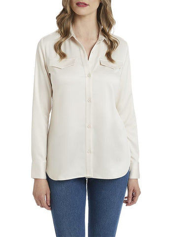 Lysse Satin Brinkley Shirt