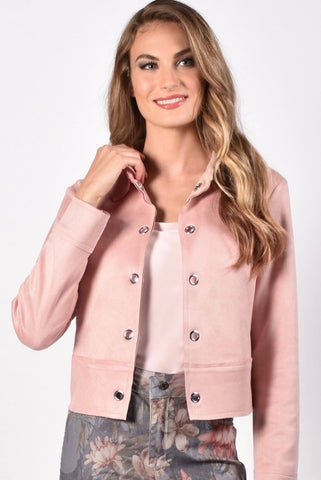 Frank Lyman Blush Knit Jacket