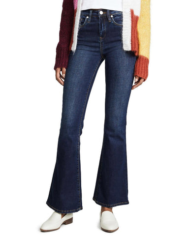 BlankNYC Waverly High Rise Flare Jeans
