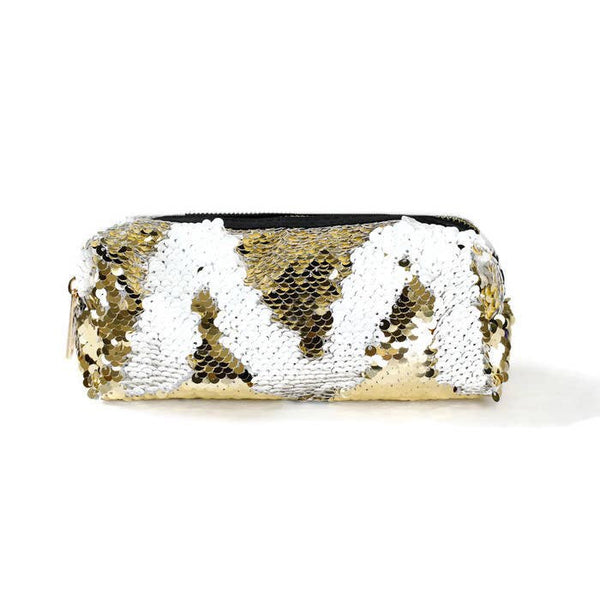 Funky Monkey Sequin Pouch