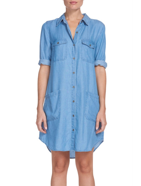 Elan Denim Dress