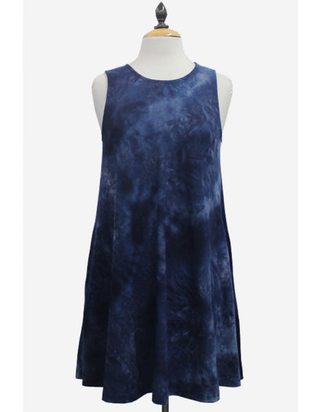 Coin 1804 Soft Tie Dye Swing Dress