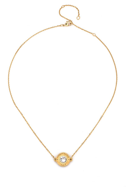 French Kande SWAROVSKI ANNECY NECKLACE GOLD