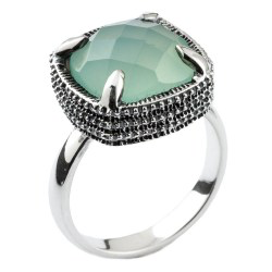 Trades by Haim Sharar - silver collection ring