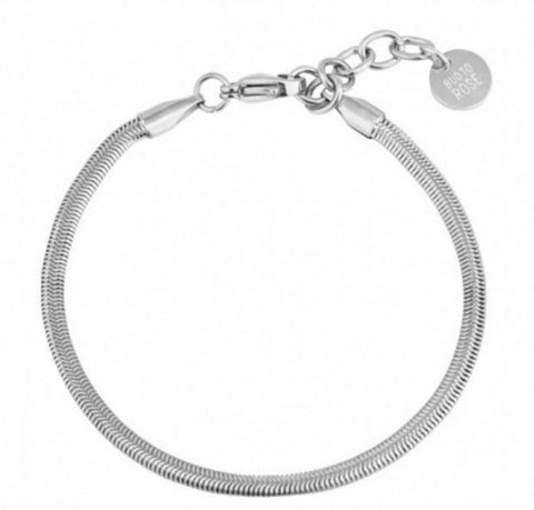 Bud To Rose Cabo Bracelet Steel