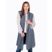 Claudia Nichole - Cashmere Sleeveless Breezy Duster