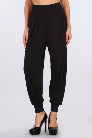 M. Rena Jogger Pants with Cuff Rib