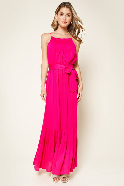SugarLips ORCHID RUFFLED MAXI DRESS