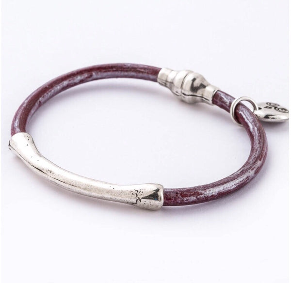 Trades by Haim Shahar - leather bracelet