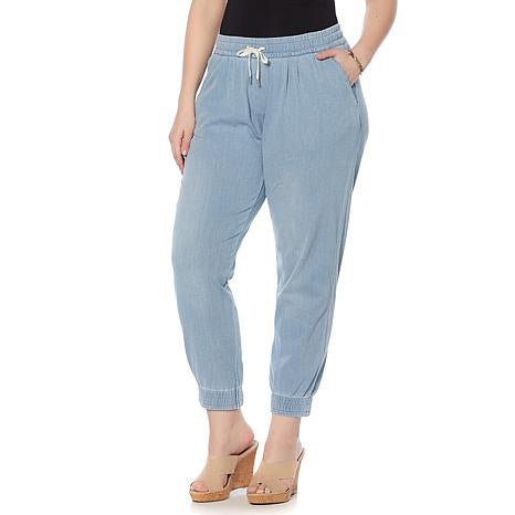 Lysse Soft Denim Joggers