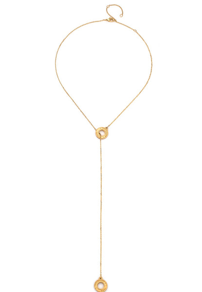 French Kande ANNECY LARIAT GOLD