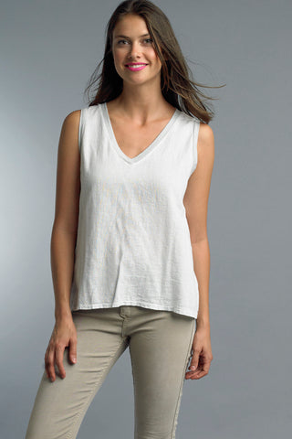 Tempo Paris V Neck Tank Top