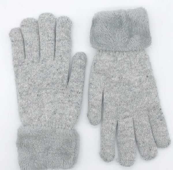 CRC Wholesale Redefined- Super Warm And Soft Knit Lined Glove