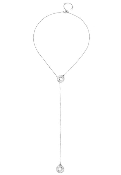 French Kande ANNECY LARIAT SILVER