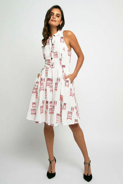 Eva Franco Kitty Dress-Red Velvet Cake