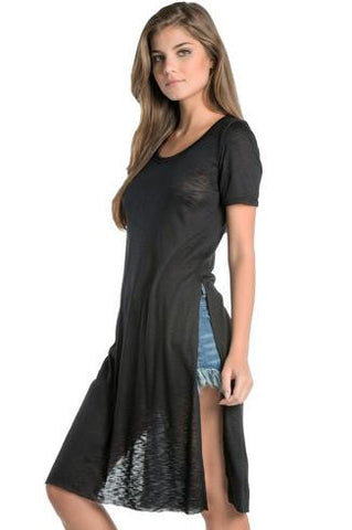 Elan High Slit Tunic