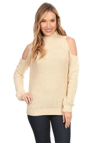 Elan Open Shoulder Sweater