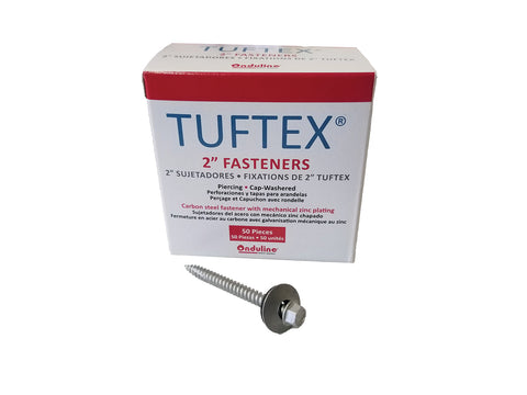 TUFTEX 2-inch Hex Head Screw (50/box)