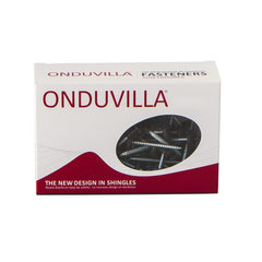 ONDUVILLA Screw Box 55pk - Siena Brown