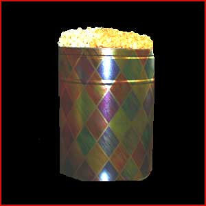 3.5 Gallon Tin of Salted Popcorn & Cheese Popcorn